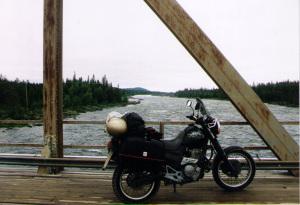 Motorradtour in der Weite Schwedens